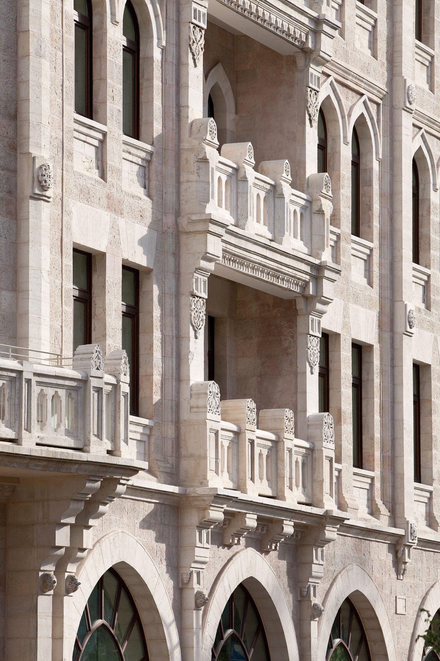 THE PALACE HOTEL WALDORF ASTORIA JERUSALEM