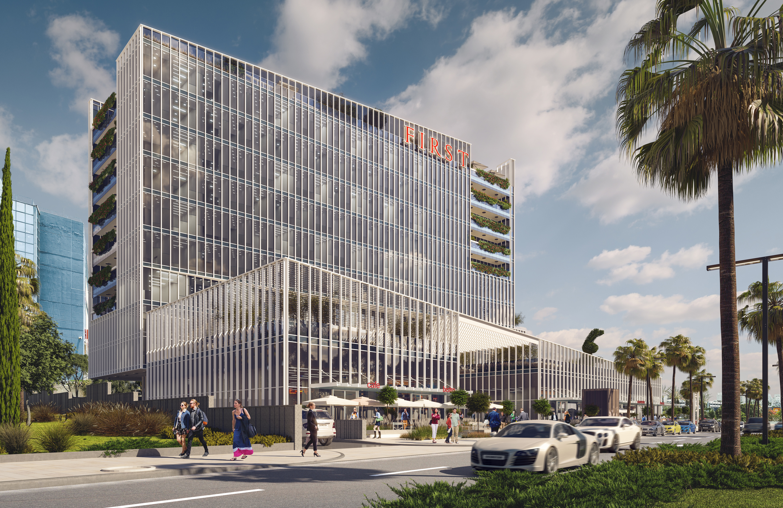 FIRST OFFICE BUILDING RISHON LEZION