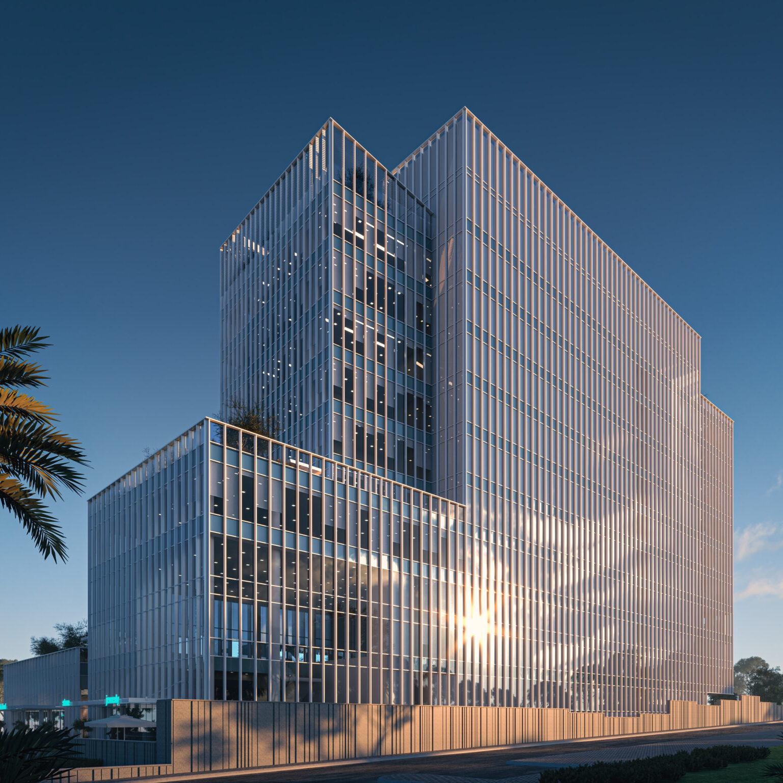 FIRST OFFICE BUILDING RISHON LEZION