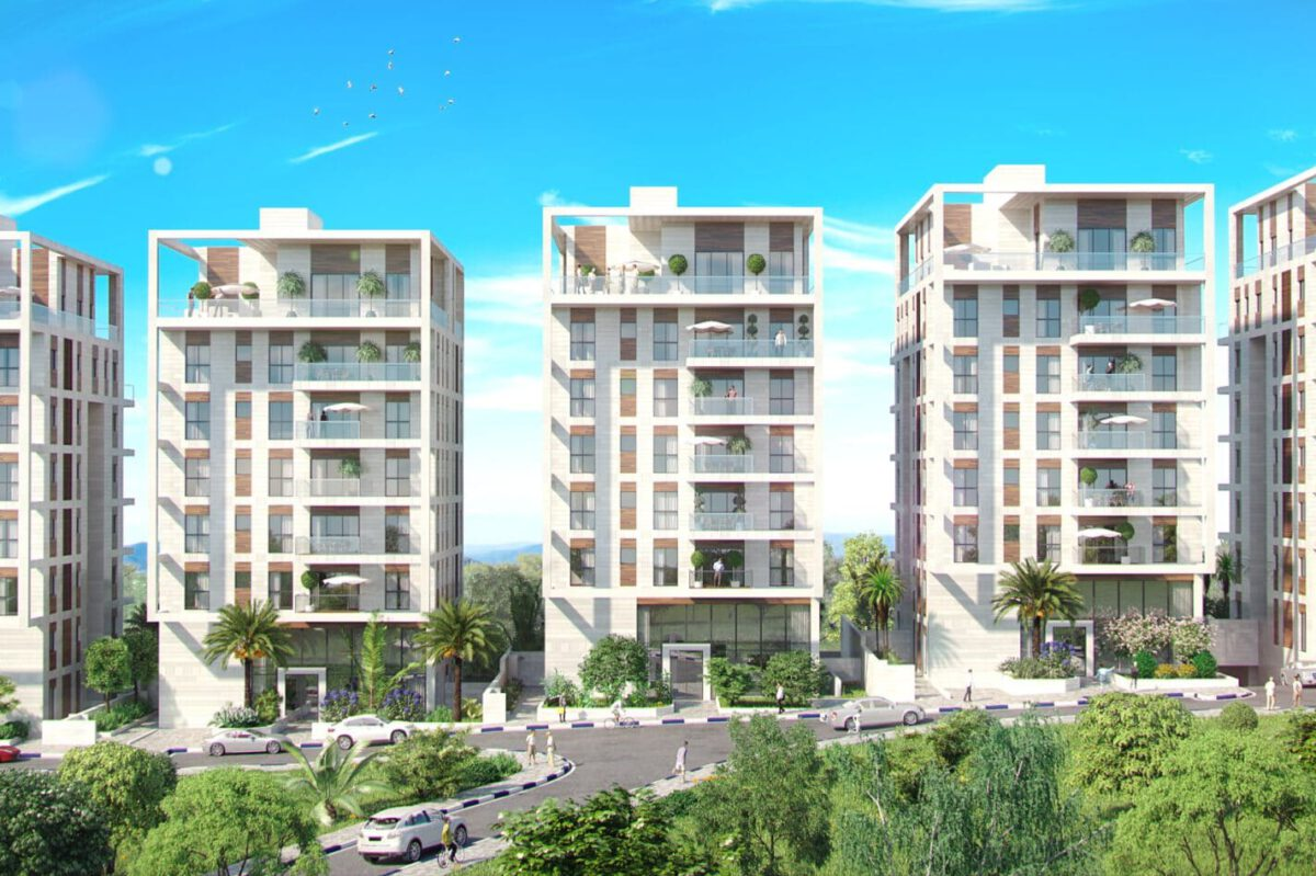 RESIDENTIAL PROJECT HAY NES NESS ZIONA STAGE 2