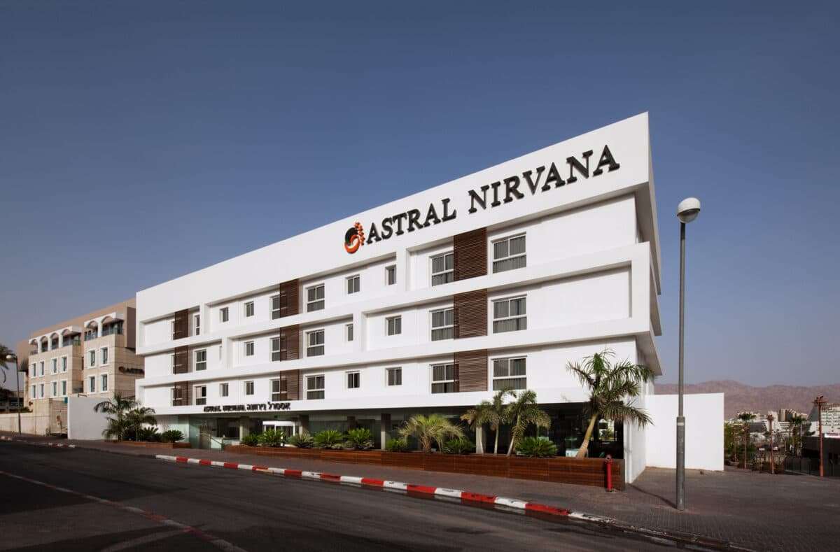 ASTRAL NIRVANA HOTEL RENOVATION EILAT