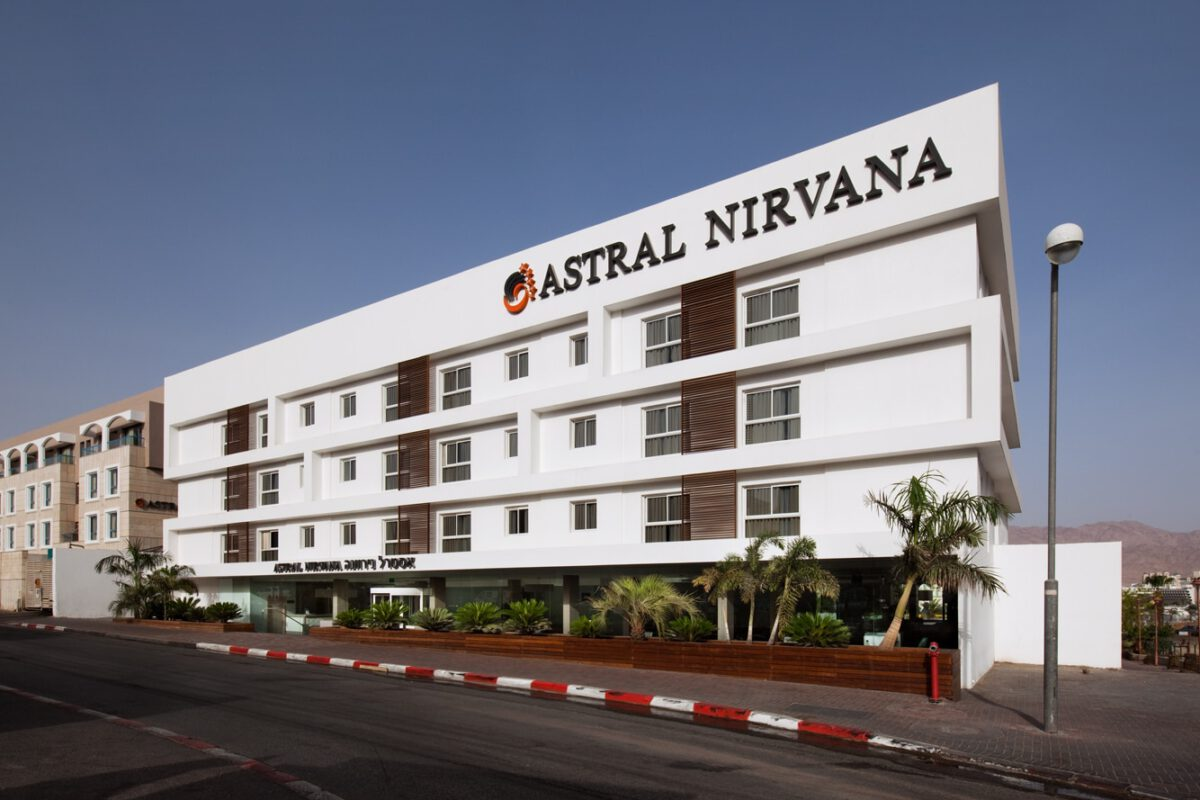 ASTRAL NIRVANA HOTEL RENOVATION EILAT