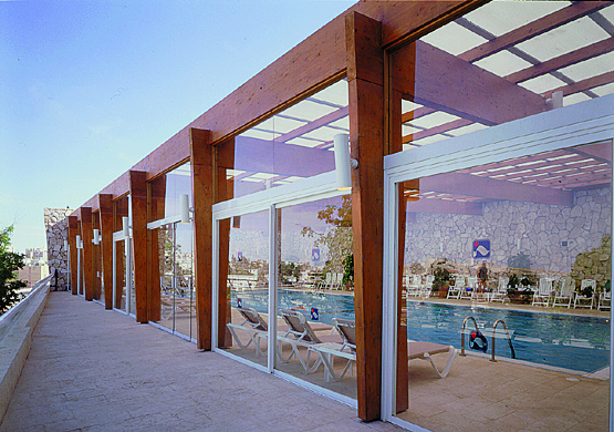 RAMON INN INDOOR SWINNING POOL MITZPE RAMON