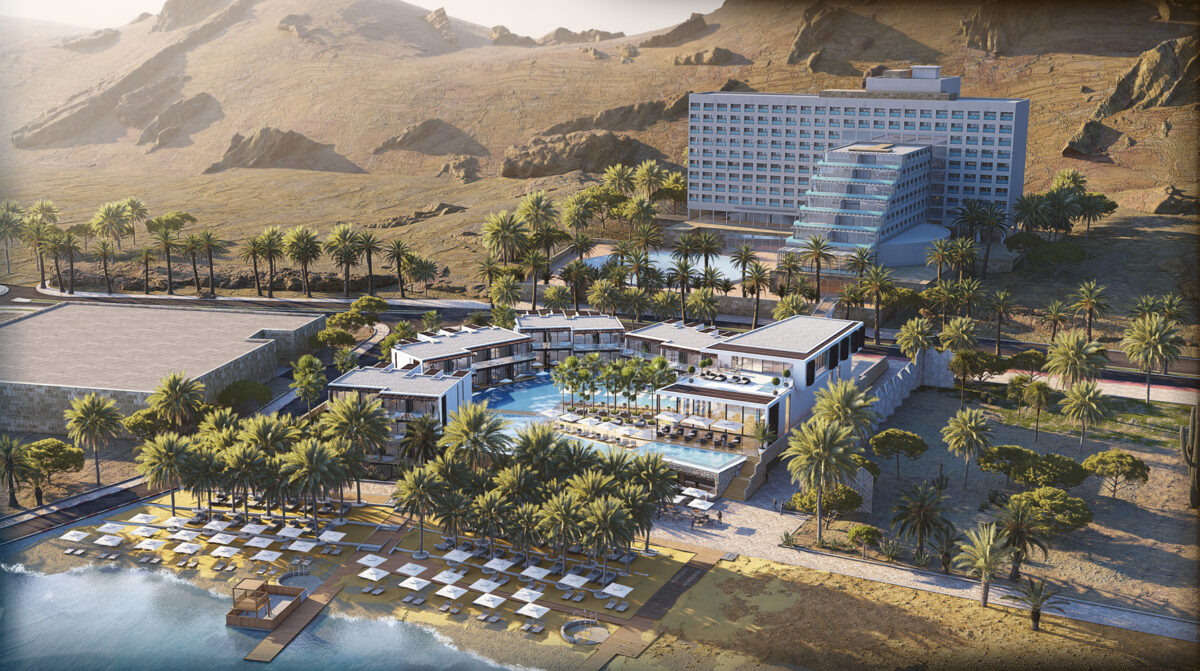 ISROTEL DEAD SEA HOTEL – NEW WING