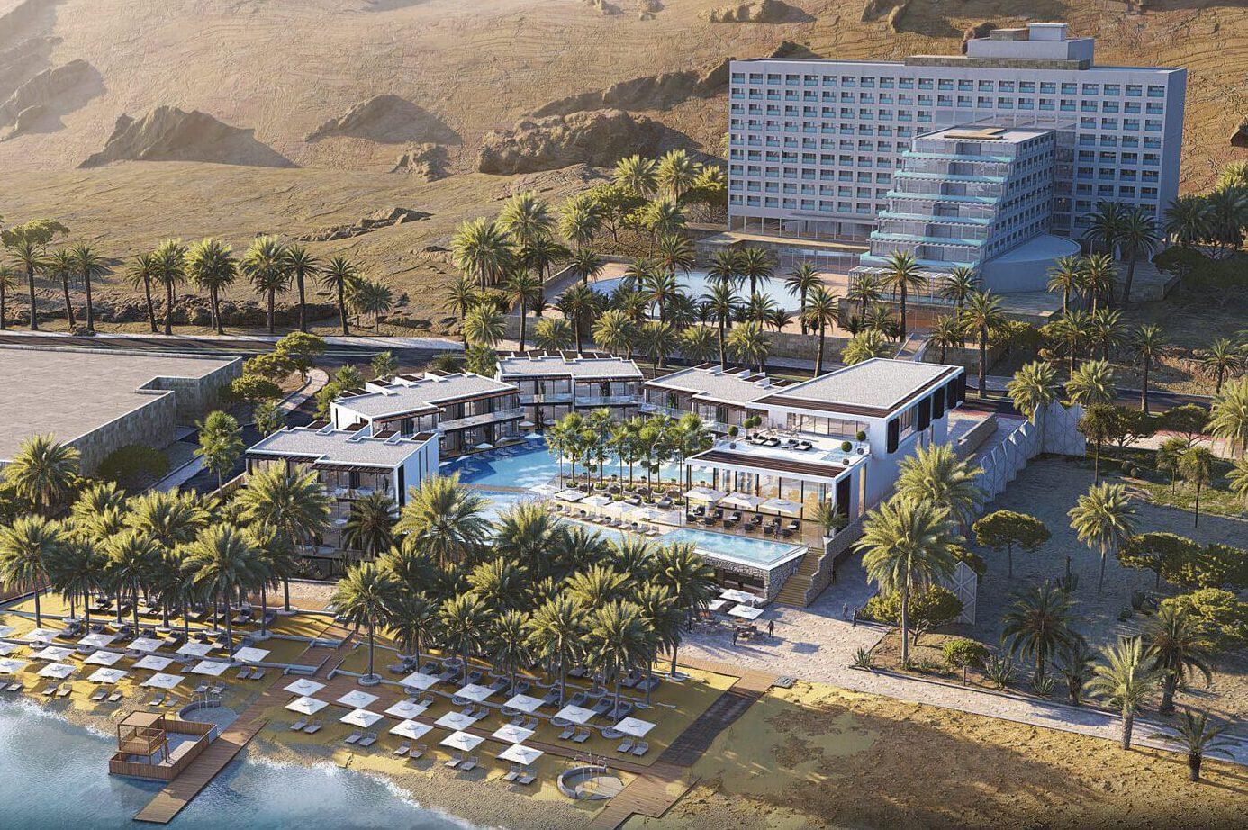 ISROTEL DEAD SEA HOTEL NEW WING