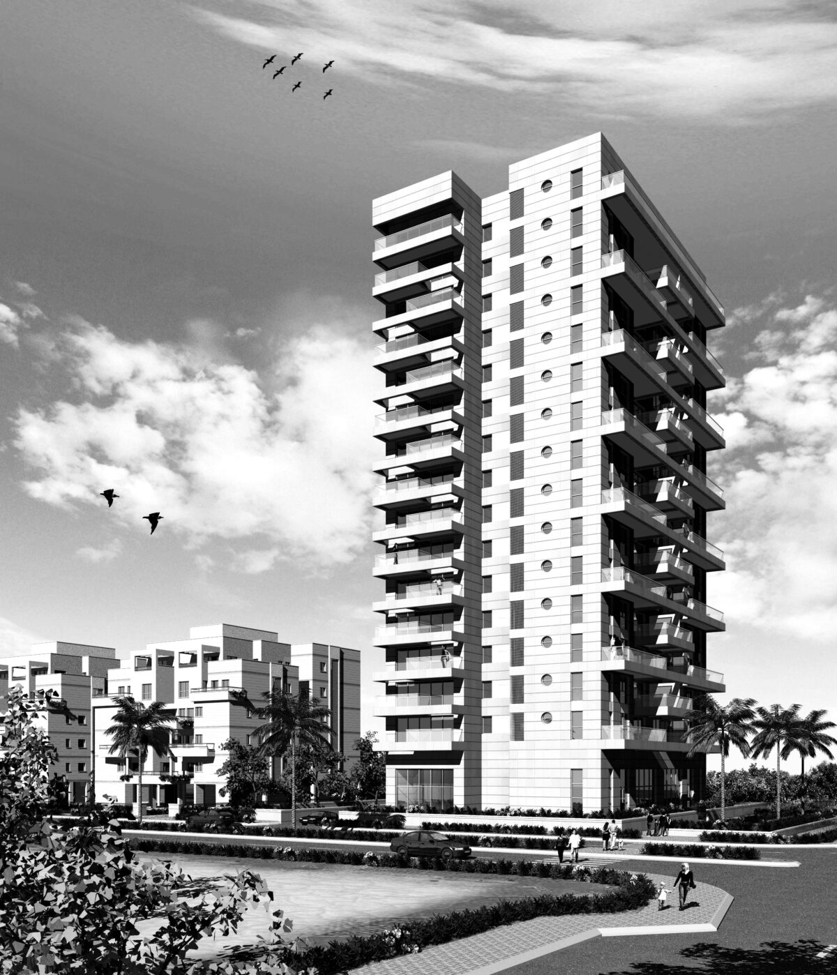 RESIDENTIAL PROJECT ANNA FRANK ST. BAT YAM