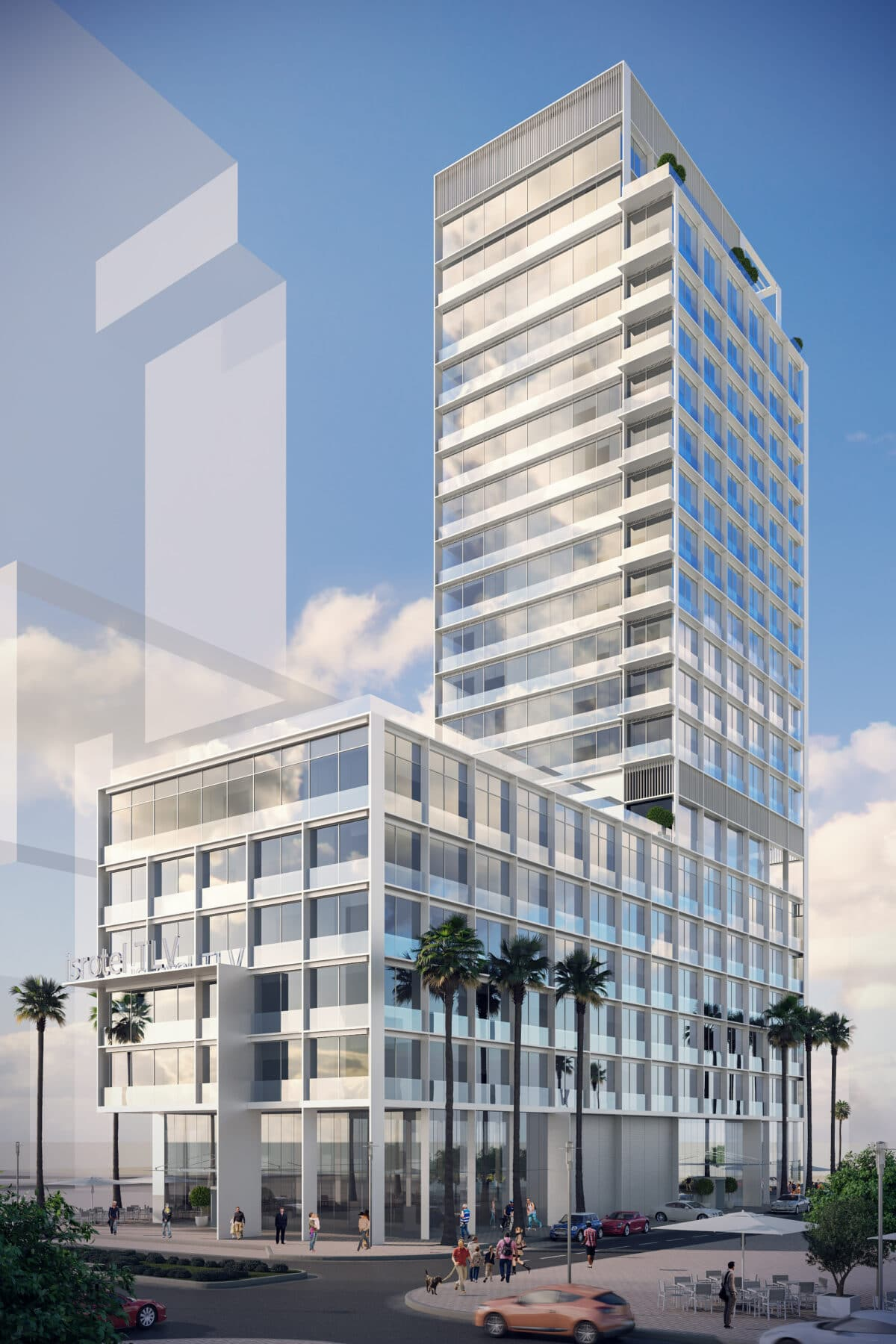 HOTEL AND RESIDENTIAL PROJECT TEL AVIV